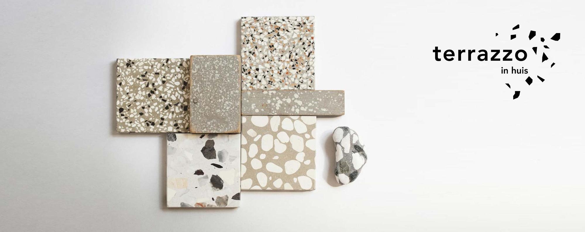 terrazzo granito tegels