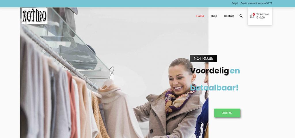 notiro webshop