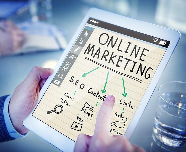 website en marketing